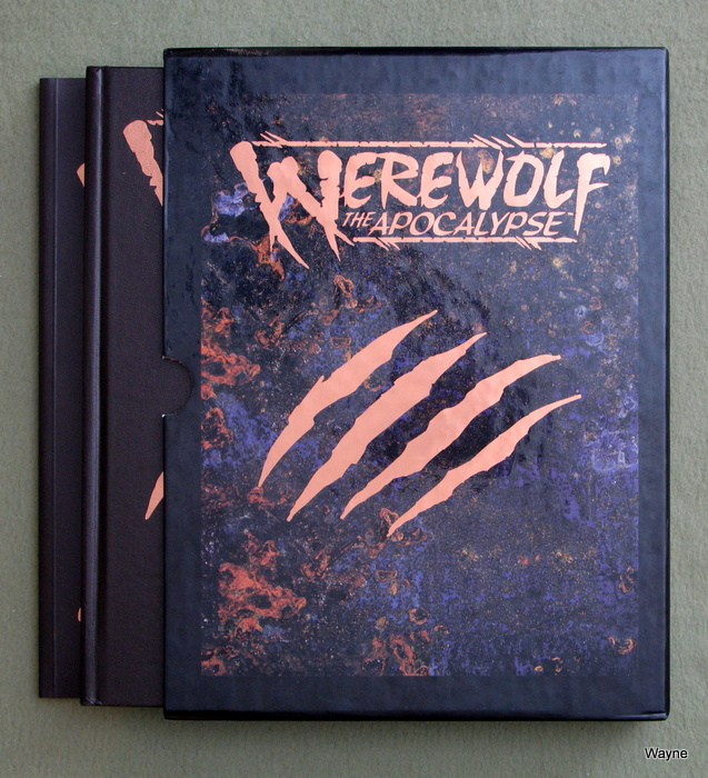 Image for Werewolf The Apocalypse & The Art of Werewolf the Apocalypse, 2 Volume Set in Slipcase