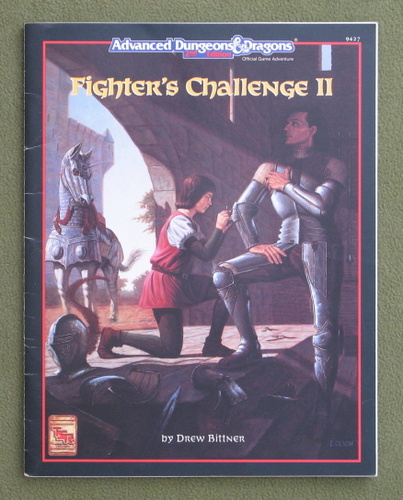 Image for Fighter's Challenge II (Advanced Dungeons & Dragons, 2nd Edition)