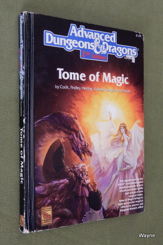 Image for Tome of Magic (AD&D, 2nd Edition) - PLAY COPY