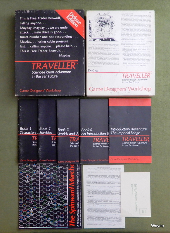 Image for Traveller: Deluxe Edition