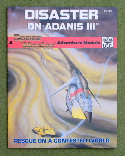 Image for Disaster on Adanis III (Space Master RPG)