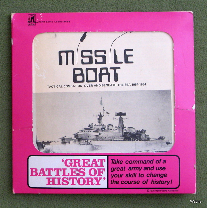 Image for Missile Boat: Game of Tactical Combat On, Over, and Beneath the Sea, 1964 - 1984