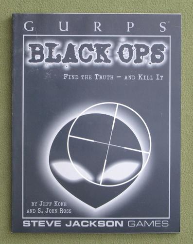 Image for GURPS Black Ops (GURPS: Generic Universal Role Playing System)