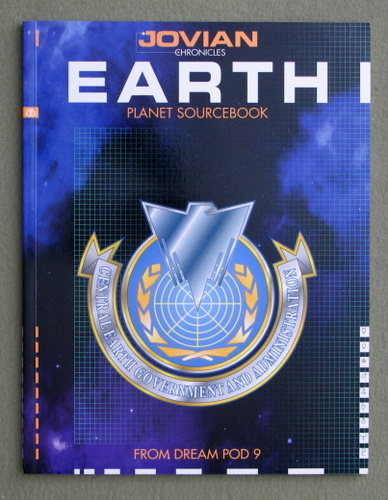 Image for Earth: Planet Sourcebook (Jovian Chronicles)