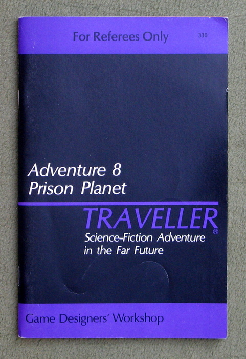 Image for Traveller Adventure 8: Prison Planet - MISSING TITLE PAGE