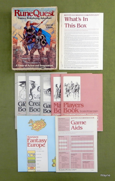 Image for RuneQuest: Deluxe (3rd) Edition - PLAY SET