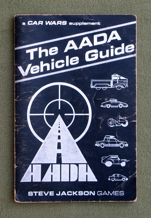 Image for The AADA Vehicle Guide (Car Wars) - PLAY COPY