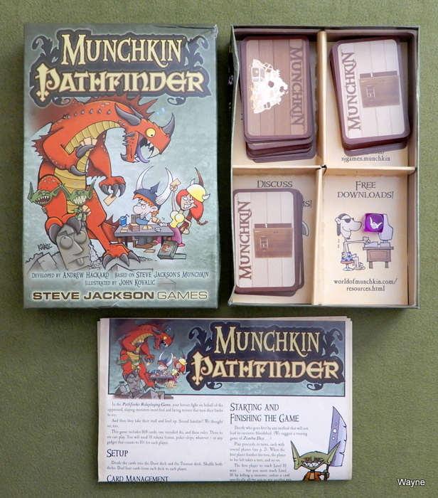 Image for Munchkin Pathfinder: Card Game