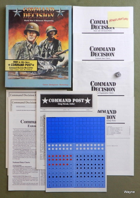 Image for Command Decision: World War II Miniature Wargaming - PLAY SET