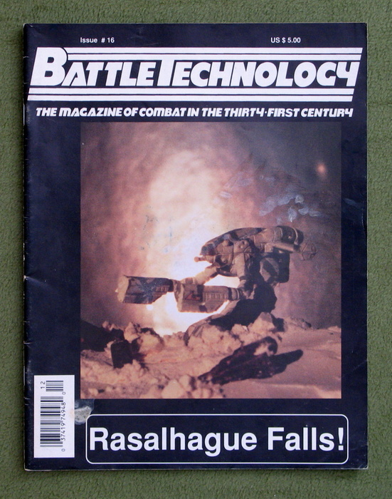 Image for BattleTechnology Magazine, Issue 16 (Battletech)
