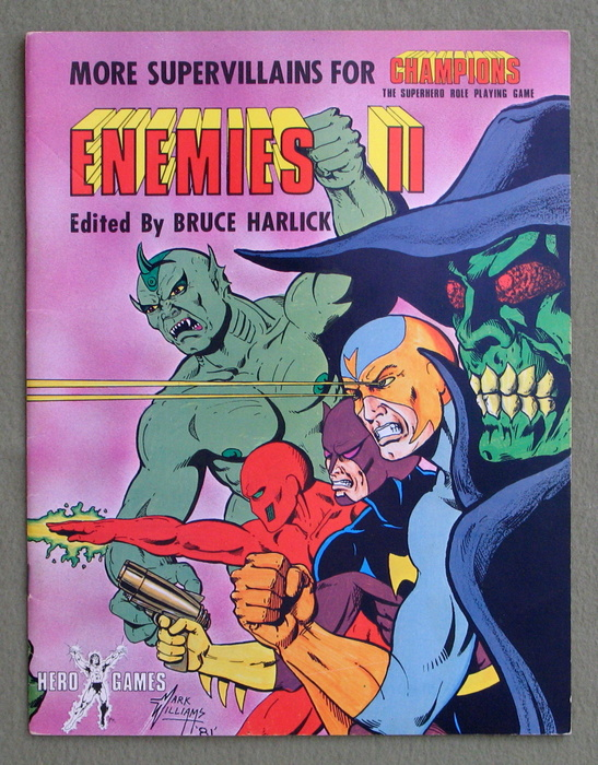 Image for Enemies II: More Supervillains for Champions