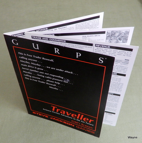 Image for GURPS Traveller: GM Screen - SCREENS ONLY