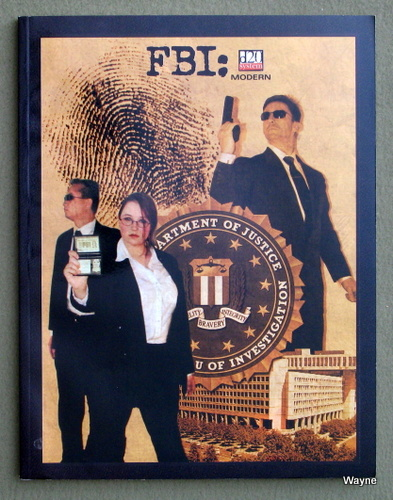 Image for FBI: Law Enforcement (D20 System: Modern)