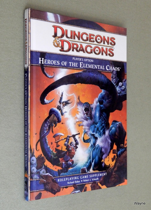Image for Player's Option: Heroes of the Elemental Chaos (Dungeons & Dragons, 4th Edition)