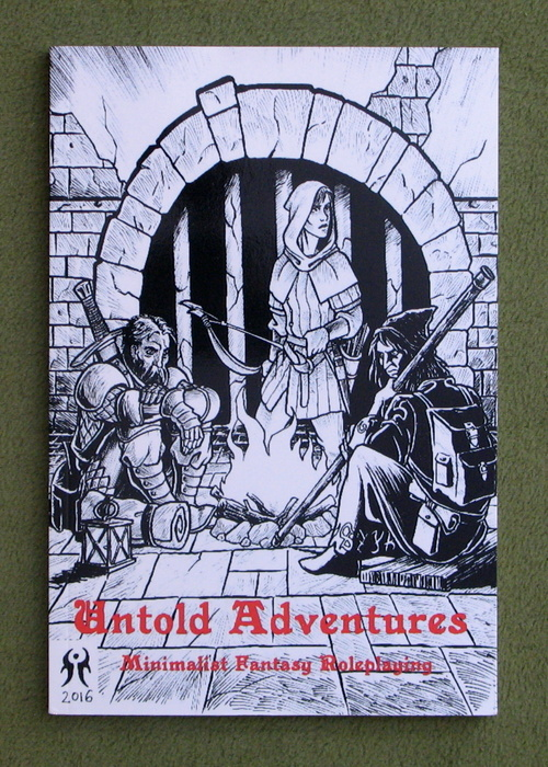 Image for Untold Adventures: Minimalist Fantasy Roleplaying (Swords & Wizardry Whitebox)