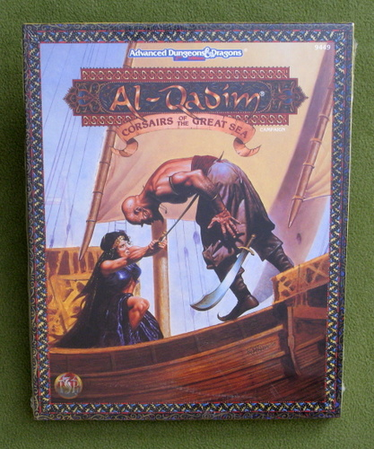 Image for Corsairs of the Great Sea (AD&D: Al-Qadim) - SHRINKWRAP