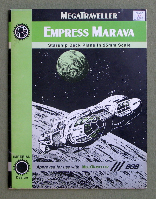 Image for Empress Marava (Megatraveller)