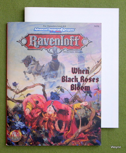 Image for When Black Roses Bloom (Advanced Dungeons & Dragons: Ravenloft & Dragonlance)