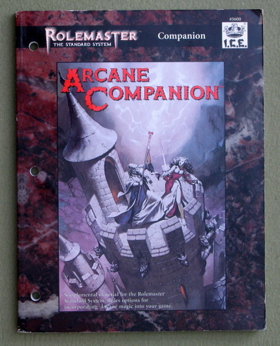 Image for Arcane Companion (Rolemaster Standard System)