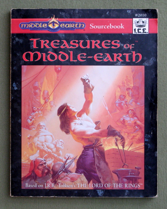 Image for Treasures of Middle-earth (MERP/Middle Earth Role Playing, 2nd Edition) - PLAY COPY