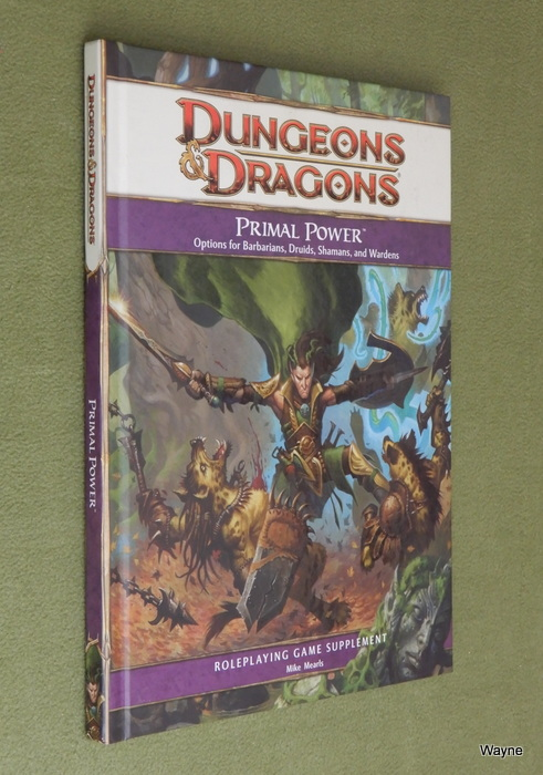 Image for Primal Power (Dungeons & Dragons, 4th Edition)