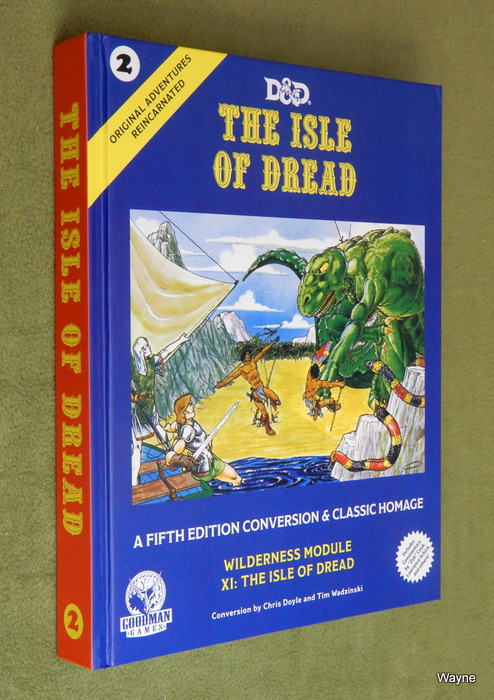 Image for The Isle of Dread (Original Adventures Reincarnated #2)