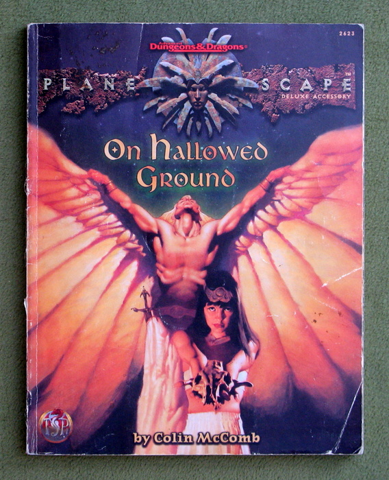 Image for On Hallowed Ground (Advanced Dungeons & Dragons: Planescape) - WORN PLAY COPY