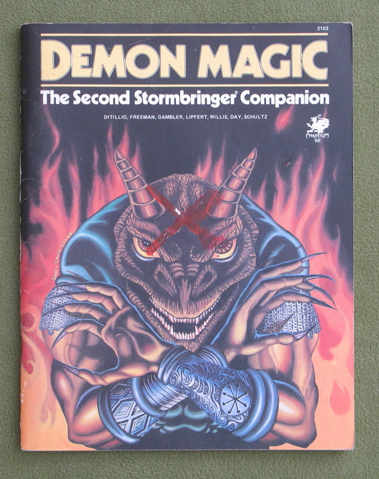 Image for Demon Magic: The Second Stormbringer Companion (Elric RPG) - MARK
