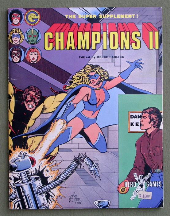 Image for Champions II - The Super Supplement!