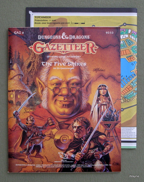 Image for Five Shires (Dungeons & Dragons Gazetteer GAZ8)