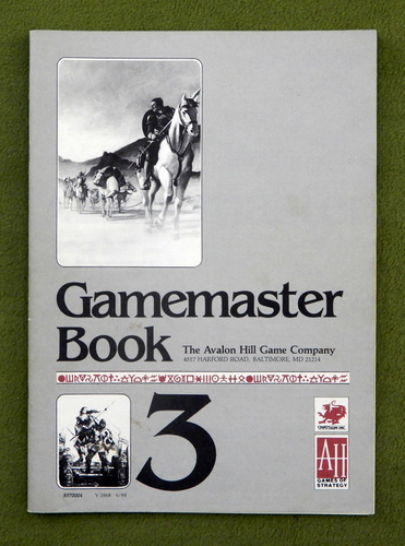 Image for GAMEMASTER BOOK: Runequest (3rd) Deluxe Edition