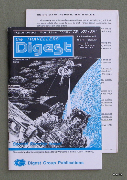 Image for Travellers' Digest, Issue 7 (Traveller RPG)