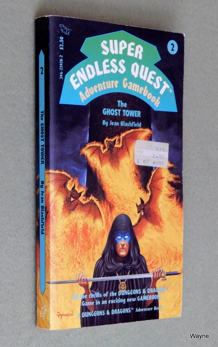 Image for The Ghost Tower (Super Endless Quest Book 2) - MISSING BOOKMARK