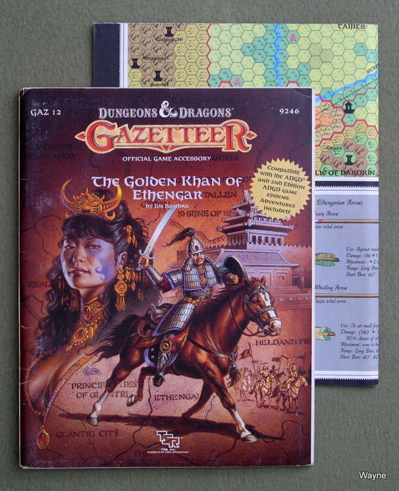 Image for The Golden Khan of Ethengar (Dungeons & Dragons Gazetteer GAZ12)