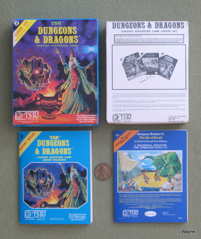 Image for Dungeons & Dragons (D&D) Expert Set [Miniature Box Set]