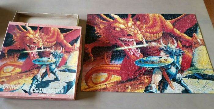 Image for Dungeons & Dragons Jigsaw Puzzle