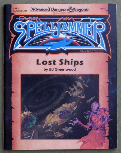 Image for Lost Ships (Advanced Dungeons & Dragons/Spelljammer Accessory SJR1)