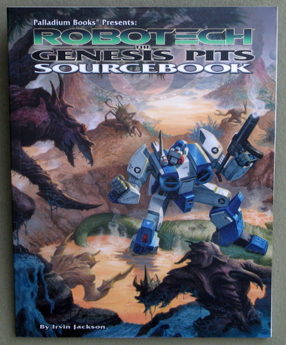 Image for Genesis Pits Sourcebook (Robotech RPG)