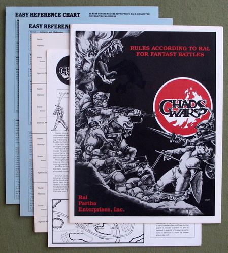 Image for Chaos Wars: Rules According to Ral for Fantasy Battles