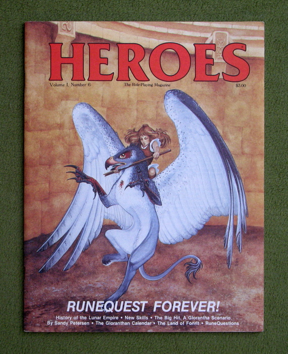 Image for HEROES Role-Playing Magazine: Volume 1, Number 6