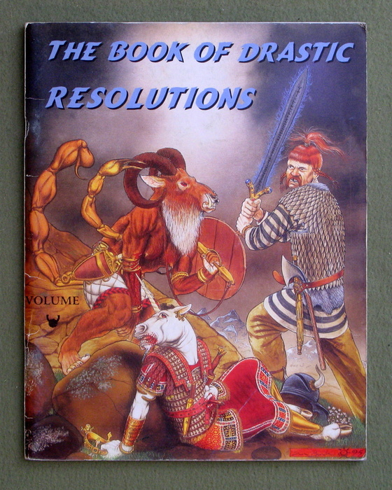 Image for The Book of Drastic Resolutions: Volume, Chaos (Runequest: Glorantha)