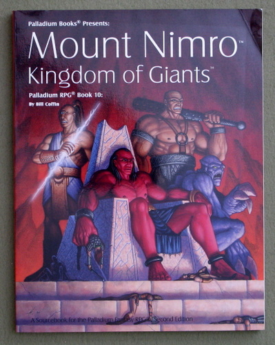 Image for Mount Nimro: Kingdom of Giants (Palladium RPG Sourcebook, Book 10)