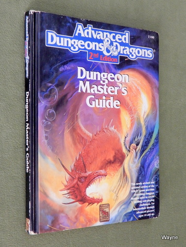 Image for Dungeon Master's Guide (AD&D, 2nd Edition) - PLAY COPY