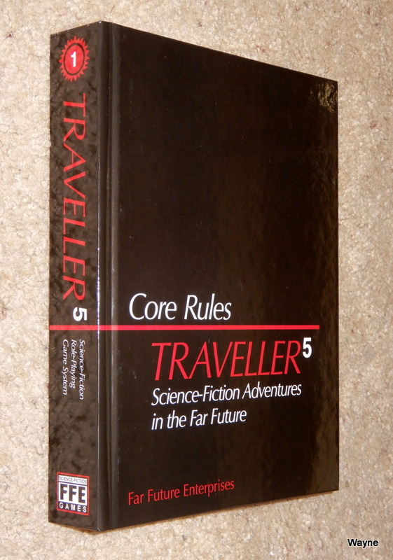 Image for Traveller5 (T5) Core Rules: Traveller Science Fiction Adventures in the Far Future