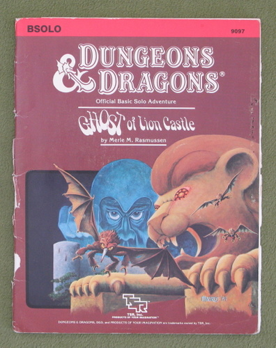 Image for Ghost of Lion Castle (Dungeons & Dragons module BSOLO) - PLAY COPY