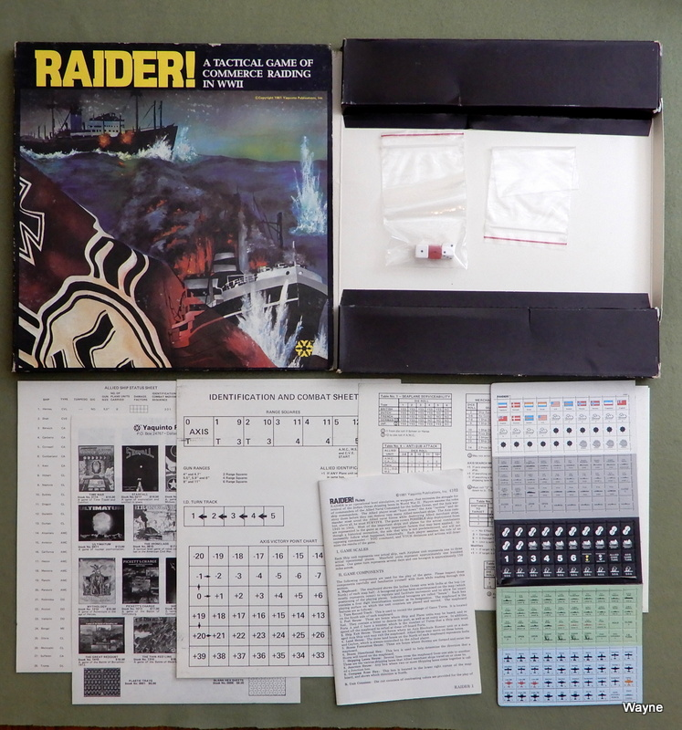 Image for Raider! - A Tactical Game of Commerce Raiding in WWII