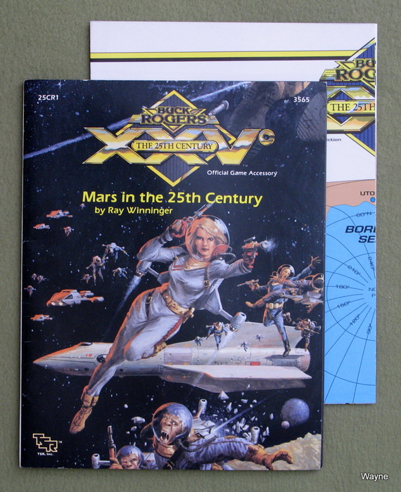 Image for Mars in the 25th Century (Buck Rogers RPG accessory XXVCR1)