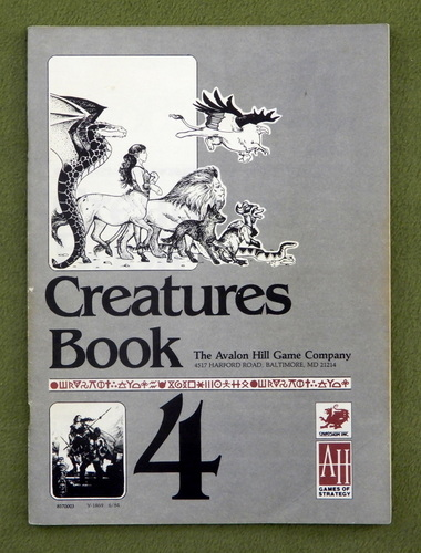 Image for CREATURES BOOK: Runequest (3rd) Deluxe Edition