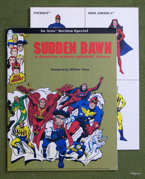Image for Sudden Dawn: A Marvel Super Heroes Module
