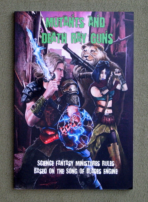 Image for Mutants and Death Ray Guns: Post-apocalyptic Miniatures Rules